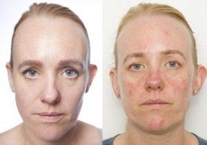化粧落とさない実験